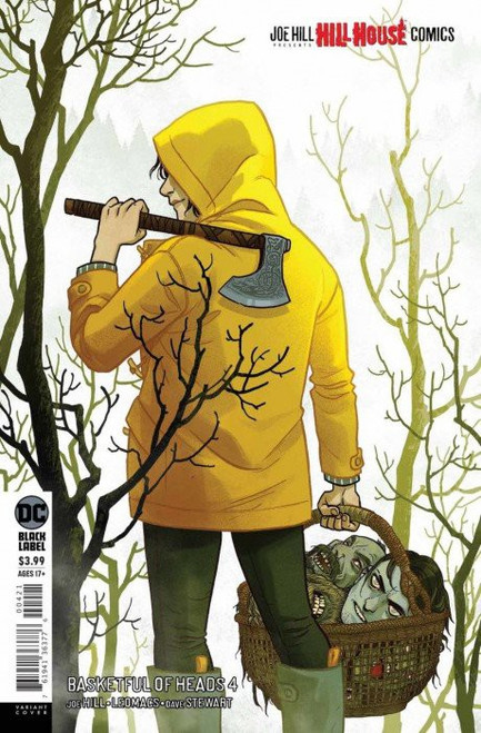 DC Black Label Basketful of Heads #4 of 7 Hill House Comics Comic Book [Becky Cloonan Variant Cover]