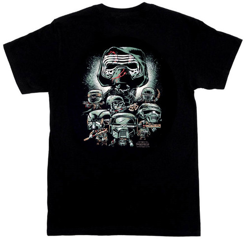 Funko Star Wars Bad Guys Exclusive T-Shirt [2X-Large]