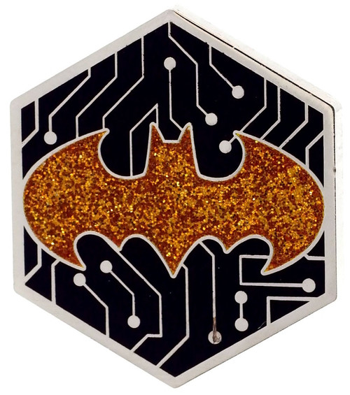 Funko DC Batman 80th Batman Exclusive 1.5-Inch Pin [Gamer, Glitter]