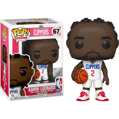Funko NBA Los Angeles Clippers POP! Sports Basketball Kawhi Leonard Vinyl Figure #67 [White Uniform]