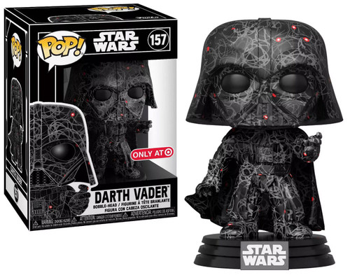Funko POP! Star Wars Darth Vader Exclusive Vinyl Bobble Head #157 [Futura x]