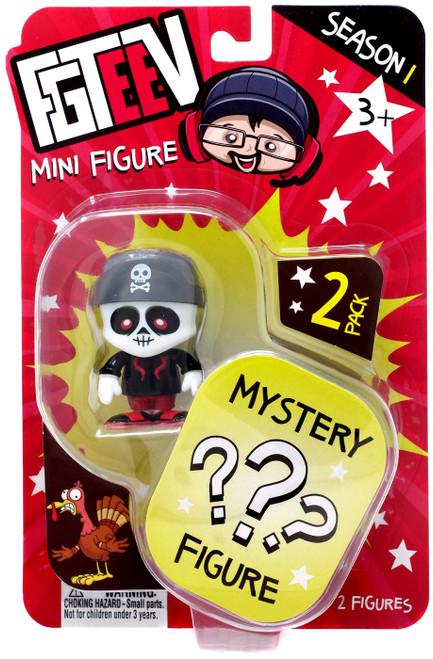 FGTeeV Season 1 Skinny Bonz & Mystery Action Figure 2-Pack