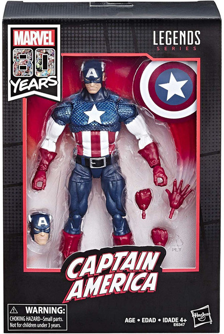Marvel Legends 80th Anniversary Captain America Exclusive Action Figure