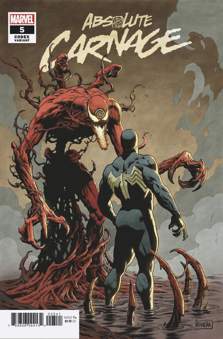 Marvel Comics Absolute Carnage #5 Comic Book [Paolo Rivera Variant Cover]