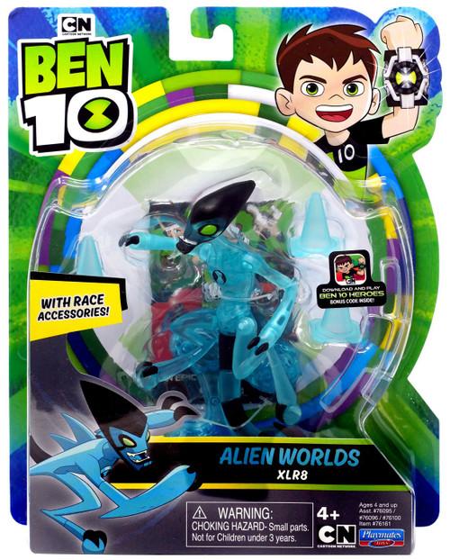 Ben 10 Alien Worlds XLR8 Action Figure [Race Accessories!]