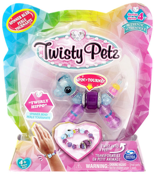 Twisty Petz Series 4 Twirly Hippo Bracelet
