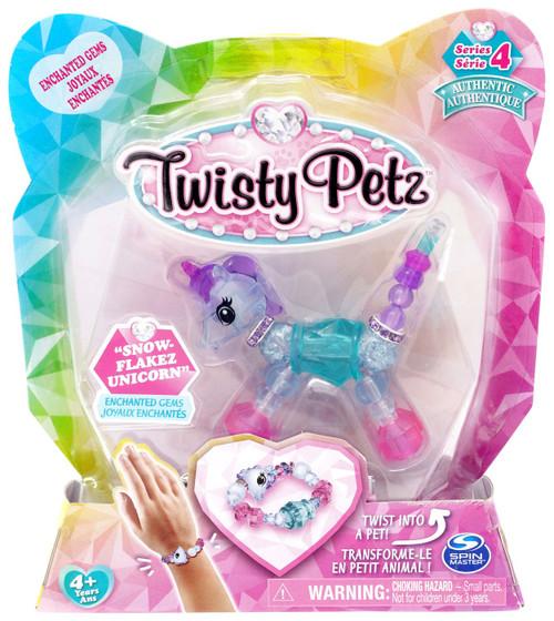 Twisty Petz Series 4 Snow-Flakez Unicorn Bracelet