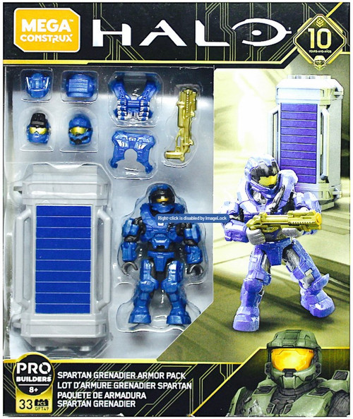Halo Spartan Grenadier Armor Pack Set