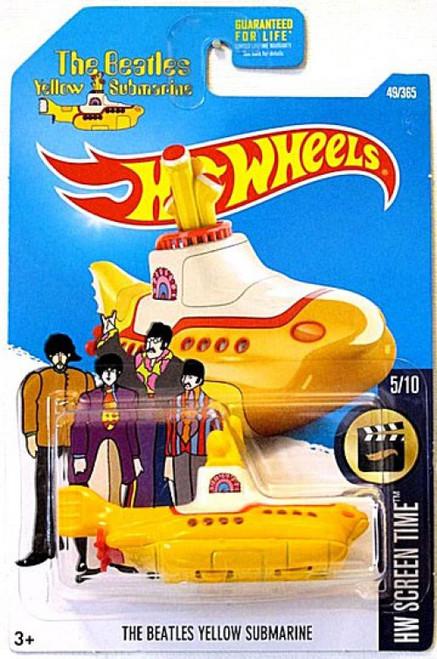Hot Wheels The Beatles Yellow Submarine Diecast Car [5/10]