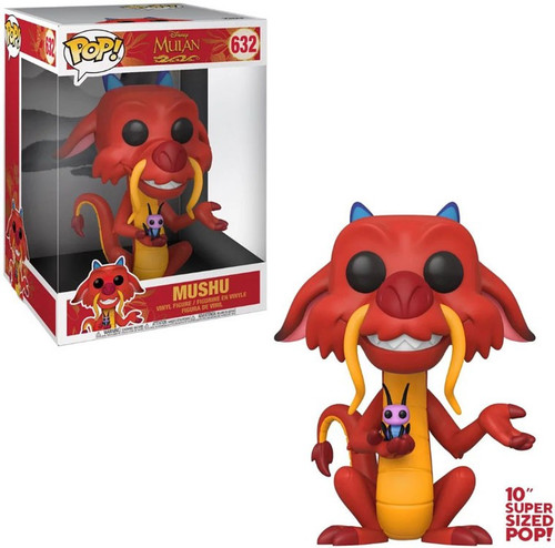 Funko Mulan POP! Disney Mushu 10-Inch Vinyl Figure #632 [Super-Sized]
