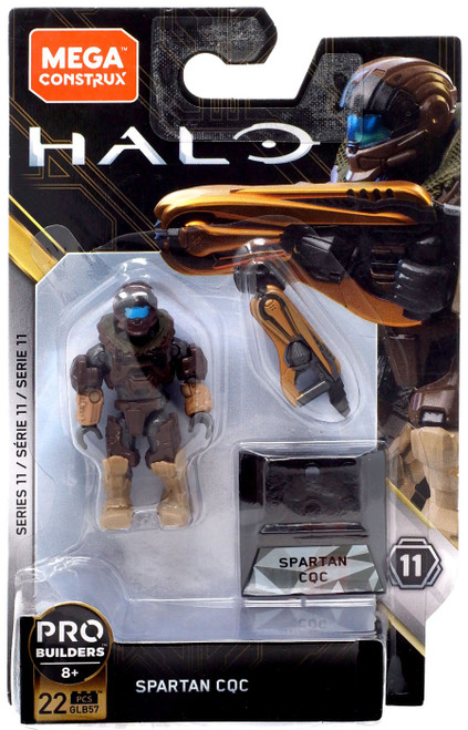 Halo Heroes Series 11 Spartan CQC Mini Figure GLB57