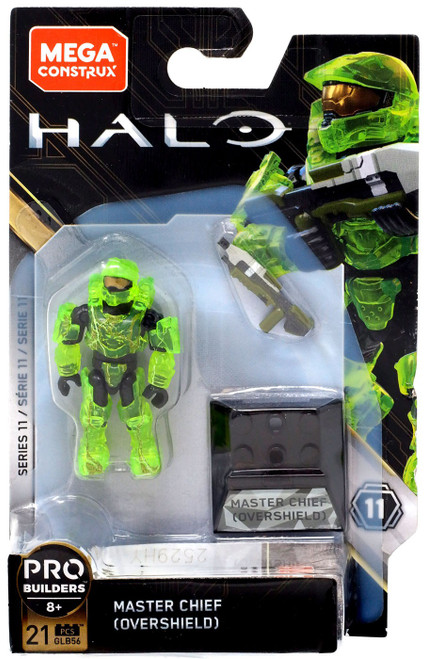Halo Heroes Series 11 Master Chief Mini Figure GLB56 [Overshield]