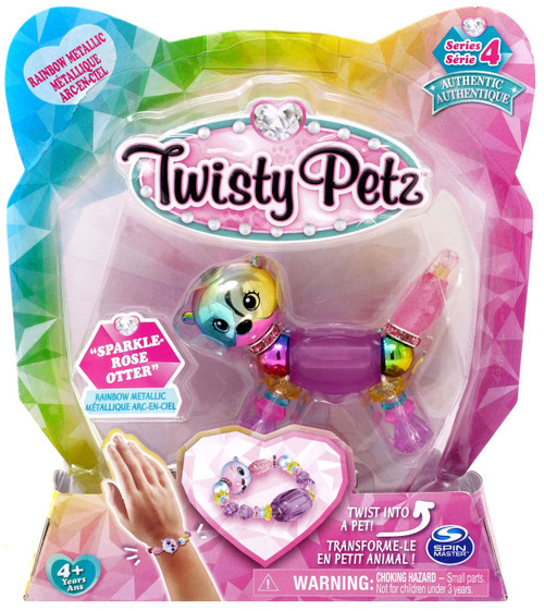 Twisty Petz Series 4 Sparkle-Rose Otter Bracelet