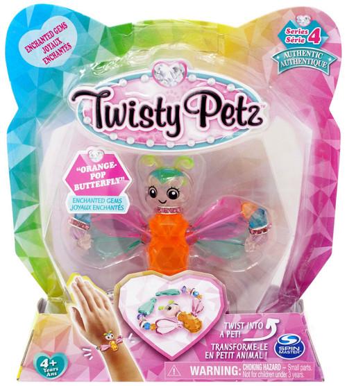 Twisty Petz Series 4 Orange-Pop Butterfly Bracelet