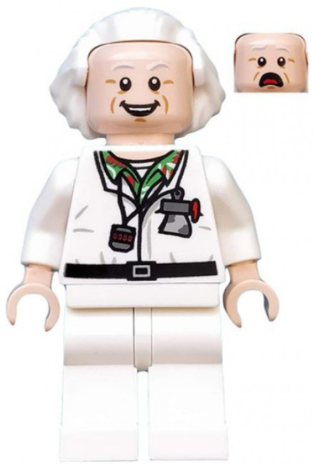 LEGO Dimensions Back to the Future Doc Brown Minifigure [Loose]