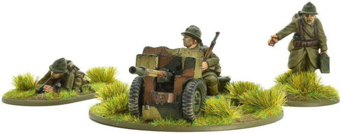 Bolt Action WWII Wargame Allies French Army 25mm Light Anti-Tank Gun Miniatures