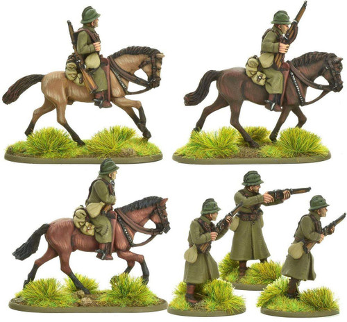 Bolt Action WWII Wargame Allies French Army Cavalry A Miniatures
