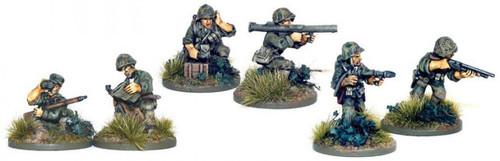 Bolt Action WWII Wargame Allies USMC Bazooka, Sniper & Flamethrower Teams Miniatures