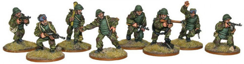 Bolt Action WWII Wargame Allies Soviet Assault Engineer Squad Miniatures