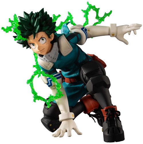 My Hero Academia Ichiban Izuku Midoriya 4-Inch Collectible PVC Figure [Next Generations! Feat. Smash Rising]