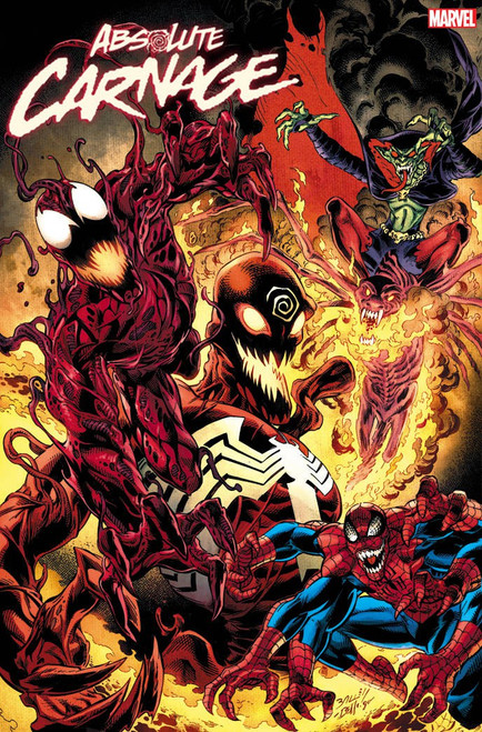 Marvel Comics Absolute Carnage #5 Comic Book [Ryan Stegman Cult of Carnage Variant Cover]