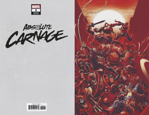 Marvel Comics Absolute Carnage #5 Comic Book [Ryan Stegman Virgin Variant Cover]