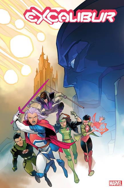 Marvel Comics Excalibur #2 Comic Book [Otto Schmidt Variant Cover]