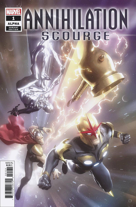 Marvel Comics Annihilation #1 Scourge Alpha Comic Book [Alex Garner Variant Cover]