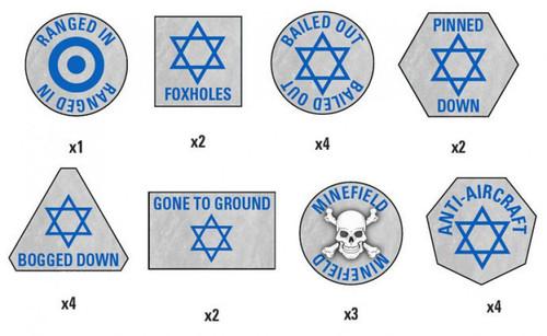 Flames of War Israeli Token Miniature ATK01 [30 Tokens]