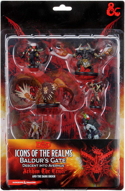 Dungeons & Dragons Icons of the Realms Avernus Dark Order Miniature 6-Pack