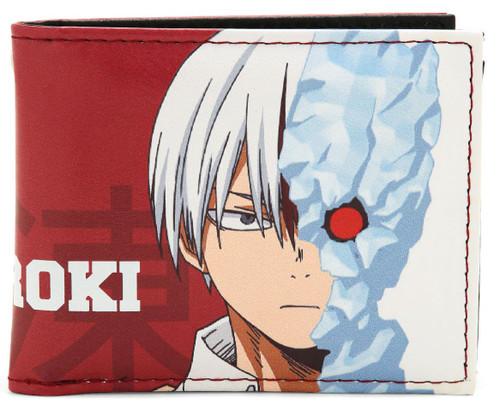 My Hero Academia Shoto Todoroki Bi-Fold Wallet