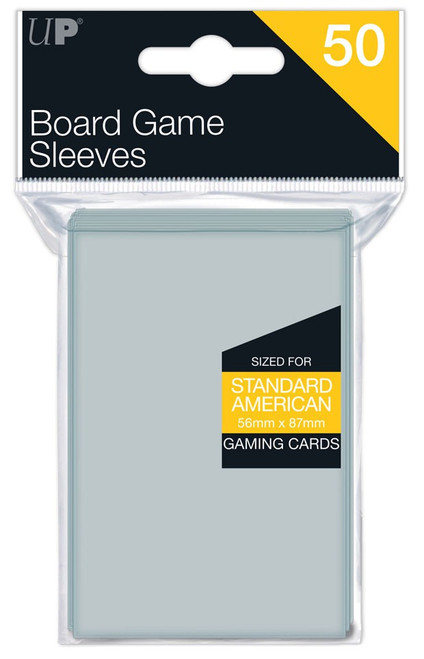 Ultra Pro Card Supplies Board Game Standard Card Sleeves [50 Count]