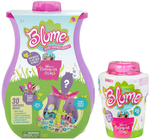 Blume Garden Party COMBO 2-Pack [Secret Surprise Garden & Mystery Pack]