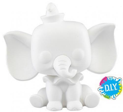 Funko Disney / Pixar POP! Disney Dumbo Vinyl Figure [DIY, White]
