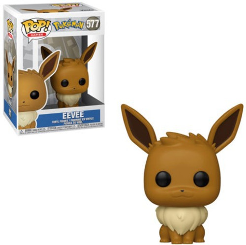 Funko Pokemon POP! Games Eevee Vinyl Figure #577 [Sitting]