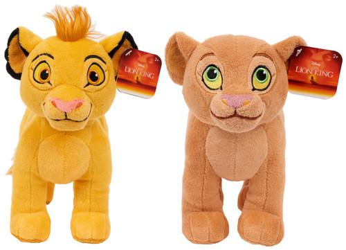 Disney The Lion King Simba & Nala 9-Inch Plush