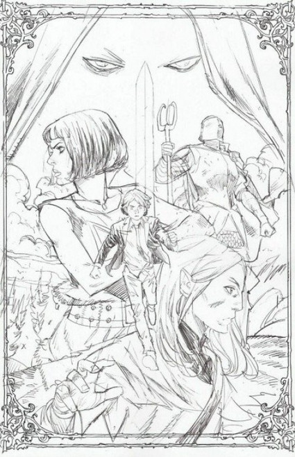 Boom Studios Folklords #1 of 5 Comic Book [Sketch Variant Cover]