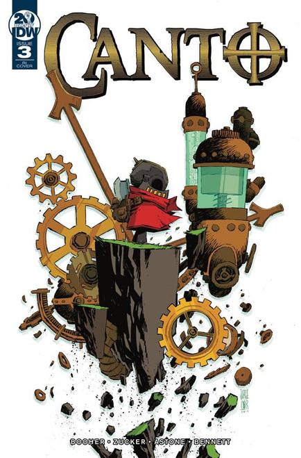 IDW Canto #3 Comic Book [Jorge Corona Variant Cover]