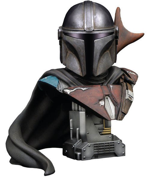 Star Wars Legends in 3D The Mandalorian Half-Scale Bust (Pre-Order ships January)