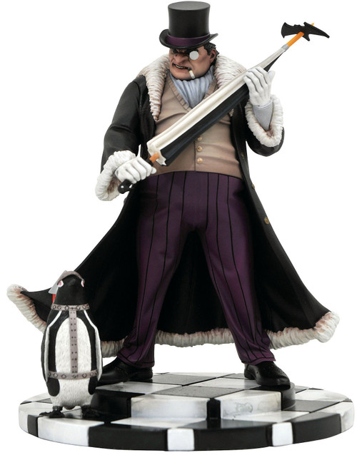 DC Gallery Penguin 9-Inch PVC Statue