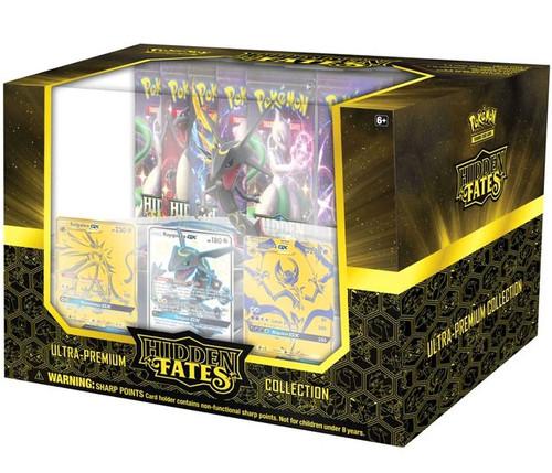 Pokemon Trading Card Game Sun & Moon Hidden Fates Ultra Premium Collection Box