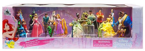 Disney Princess Exclusive 20-Piece PVC Mega Figurine Playset [2019]