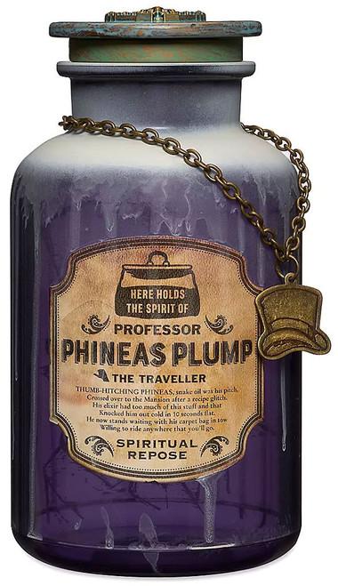 Disney Haunted Mansion Host a Ghost Professor Phineas Plump Exclusive Spirit Jar