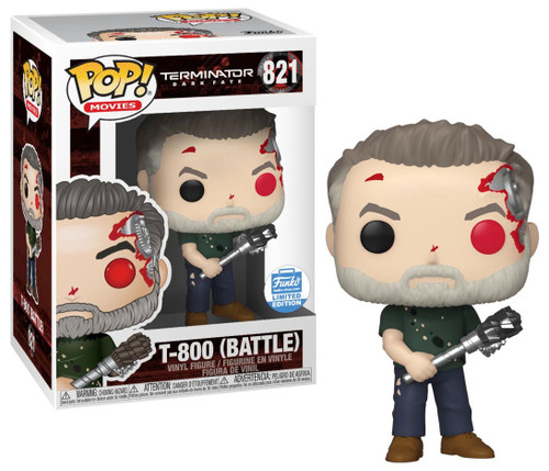 Funko Terminator: Dark Fate POP! Movies T-800 Exclusive Vinyl Figure #821 [Battle]