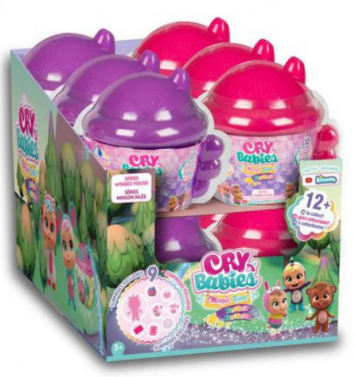 Cry Babies Magic Tears Series Winged House Mystery Box [12 Packs]