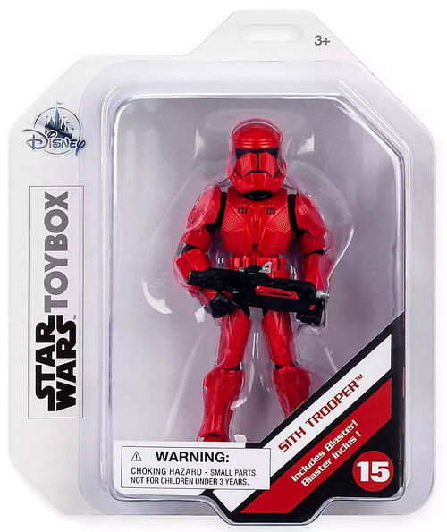 Disney Star Wars The Rise of Skywalker Toybox Sith Trooper Exclusive Action Figure