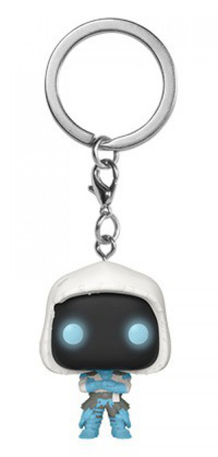 Funko Fortnite Pocket POP! Frozen Raven Keychain