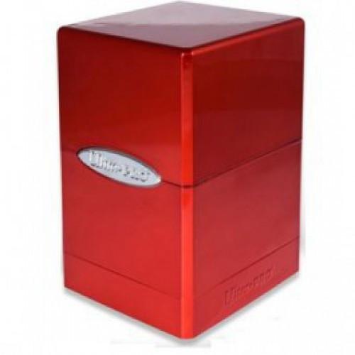 Ultra Pro Card Supplies Satin Tower Hi Gloss Fire Deck Box