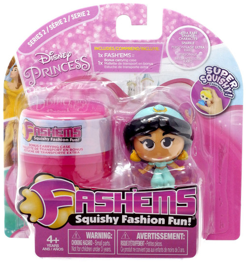 Disney Princess Fash'Ems Series 2 Jasmine Mini Figure