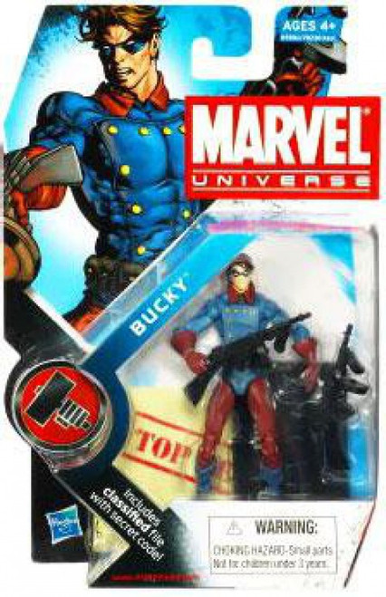 Marvel Universe Series 7 Bucky Action Figure #10 [Classic, Damaged Package]